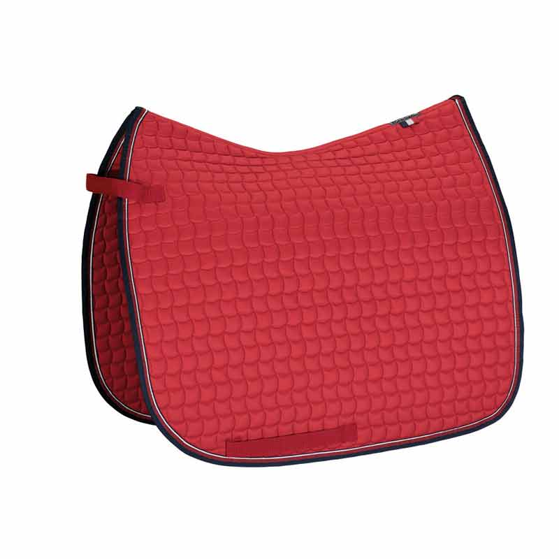 Eskadron Cotton Saddle Pad-Pepper Red