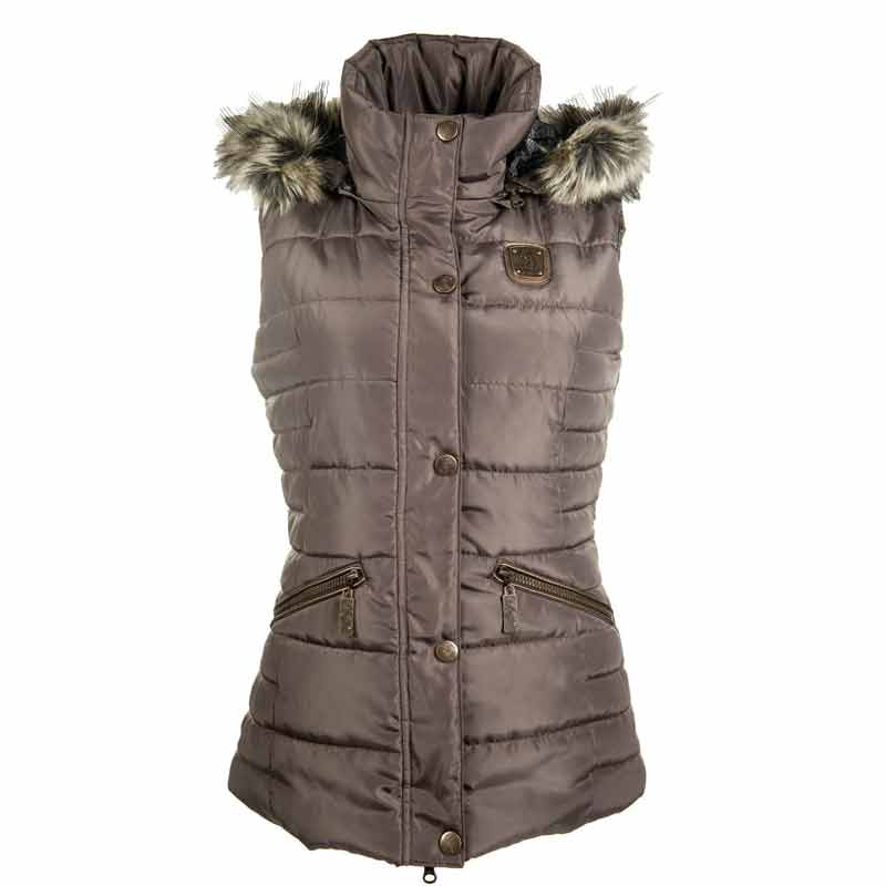 HKM Cavallino Marino Copper Kiss Riding Vest-Mocha