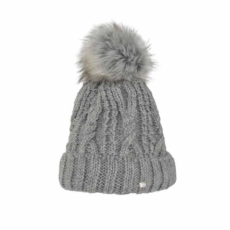 Pikeur Bobble Hat - Grey Melange