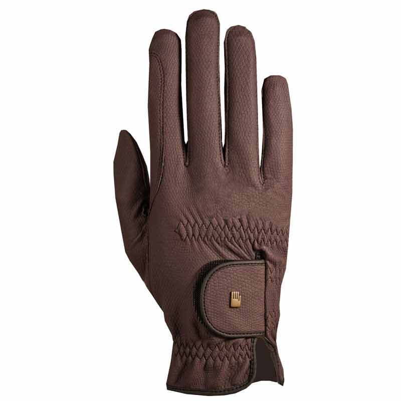 Roeck Winter Grip Gloves-Brown