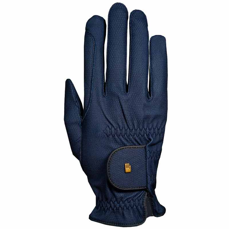 Roeckl Winter Grip Gloves-Navy