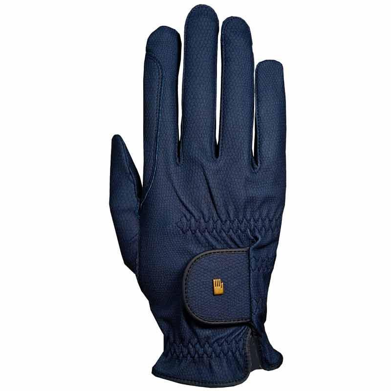 Roeckl Winter Grip Gloves-Navy