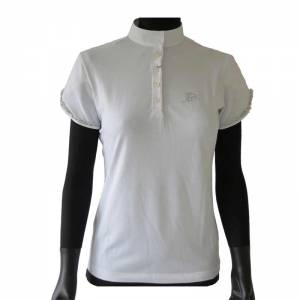 Anna Scarpati Falda Competition Shirt - White