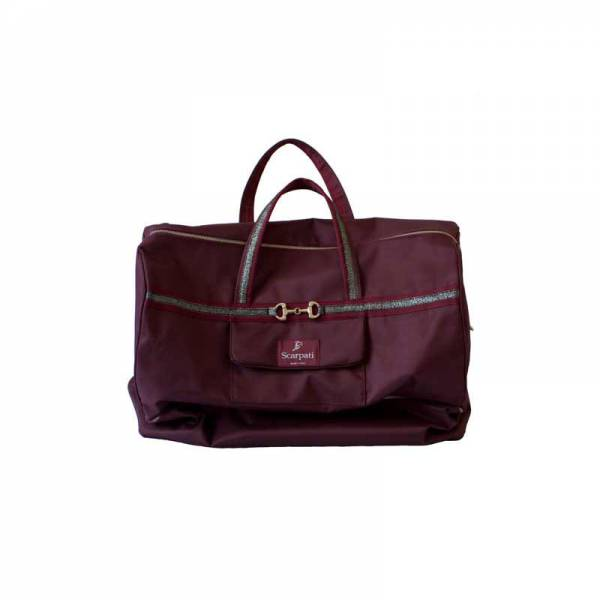 Anna Scarpati Oxer Competition Bag - Bergundy