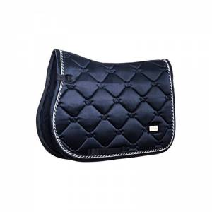 Equestrian Stockholm Midnight Blue Saddle Pad - Jumping