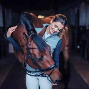 Equestrian Stockholm Vest - Silver Grey