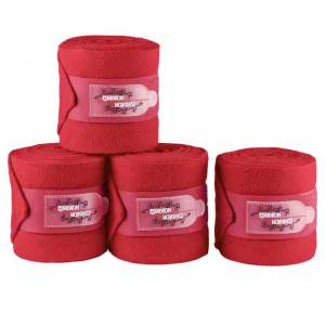 Eskadron Bandages - Pepper Red