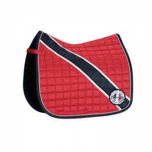 Eskadron BiColor Saddle Pad - Pepper Red