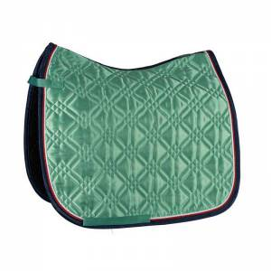 Eskadron Brilliant Dura Saddle Pad - Mid Green