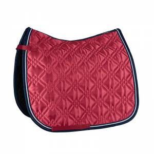 Eskadron Brilliant Dura Saddle Pad - Pepper Red