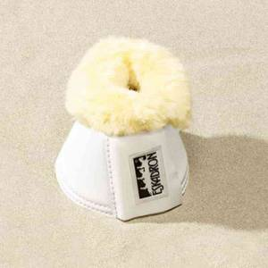 Eskadron Sheepskin Over Reach Boots - White