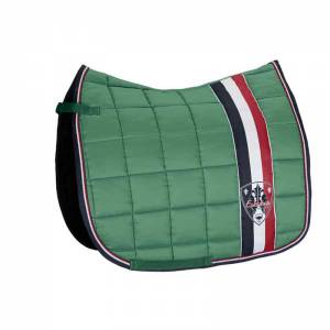 Eskkadron Big Square Saddle Pad - Mid Green