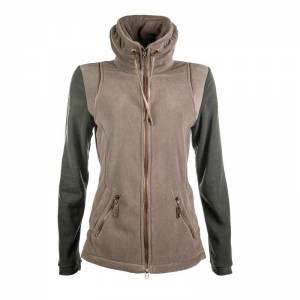 HKM Cavallino Marino Copper Kiss Fleece Riding Jacket