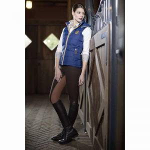 HKM Lauria Garrelli Roma Riding Vest - Blue