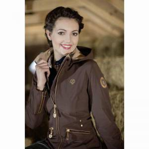 HKM Lauria Garrelli Roma Softshell Jacket - Brown