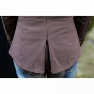 HKM Lauria Garrelli Roma Softshell Jacket - Brown - Reart View