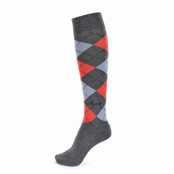 Pikeur Knee Length Socks - Grenadine Red