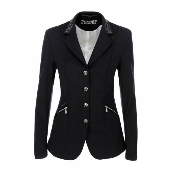 Pikeur Saphira Competition Jacket - Black - Front View
