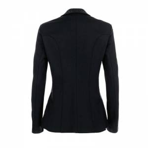 Pikeur Saphira Competition Jacket - Black - Rear View