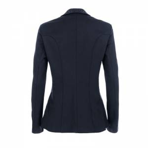 Pikeur Saphira Competition Jacket - Navy Blue - Rear View