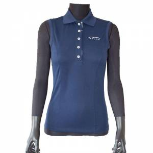 Animo Brandy Polo Shirt - Navy Blue