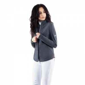 Animo Lerfo Softshell Jacket - Grey - Model View