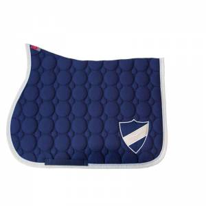 Animo Waldon Saddle Pad - Navy Blue