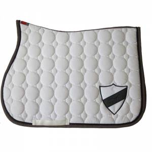 Animo Waldon Saddle Pad - White