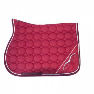 Animo Wuxi Saddle Pad - Burgundy Red