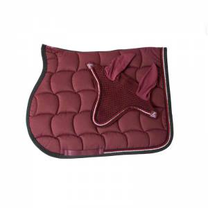 Anna Scarpati Quadro Matchy Set - Burgundy Red
