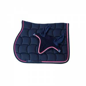 Anna Scarpati Quadro Matchy Set - Navy Blue