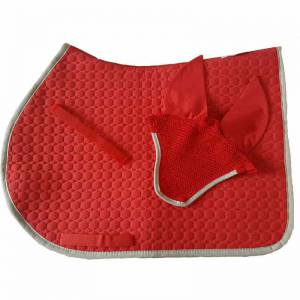 Mattes Matchy Set - Cherry Red