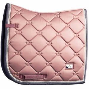 Equestrian Stockholm Pink Pearl Saddle Pad - Dressge