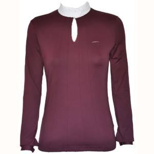 Animo Bango Competition Shirt Burgundy
