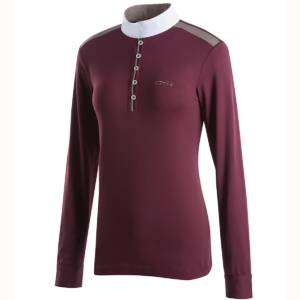 Animo Beverly Competition Shirt Burgundy