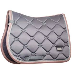 Equestrian Stockholm Dusty Pink Saddle Pad - Jump