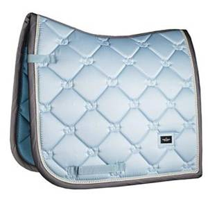 Equestrian Stockholm Ice Blue Saddle Pad Dressage