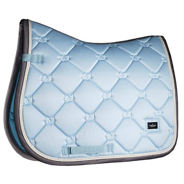 Equestrian Stockholm Ice Blue Saddle Pad Jump