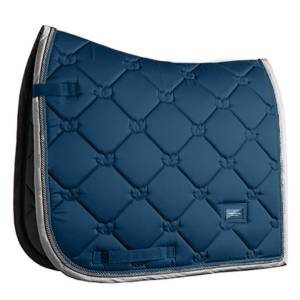 Equestrian Stockholm Moroccan Blue Saddle Pad Dressage