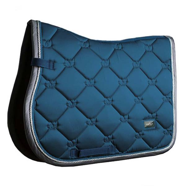 Equestrian Stockholm Moroccan Blue Saddle Pad Jump