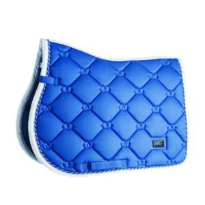 Equestrian Stockholm Sapphire Saddle Pad Jump