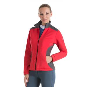 Anna Scarpati Tosta Soft Shell Jacket - Red